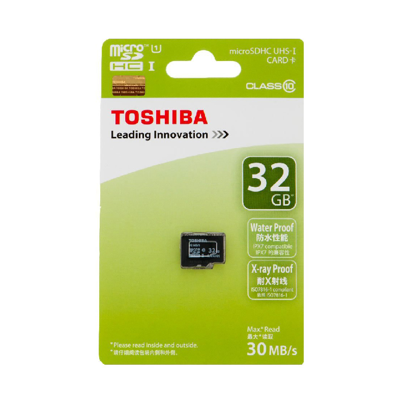Thẻ nhớ Toshiba Micro SDHC 32GB Class 10 hình 0