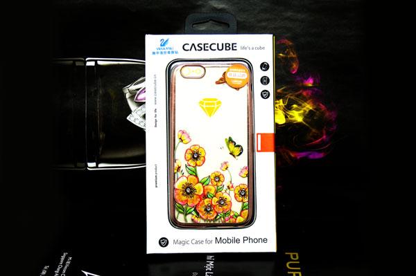 Ốp lưng Case Cube TPU Blossom iPhone 6/6S hình 7