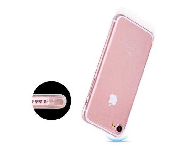 Ốp lưng Hoco TPU iPhone 7 (trong suốt) hình 3