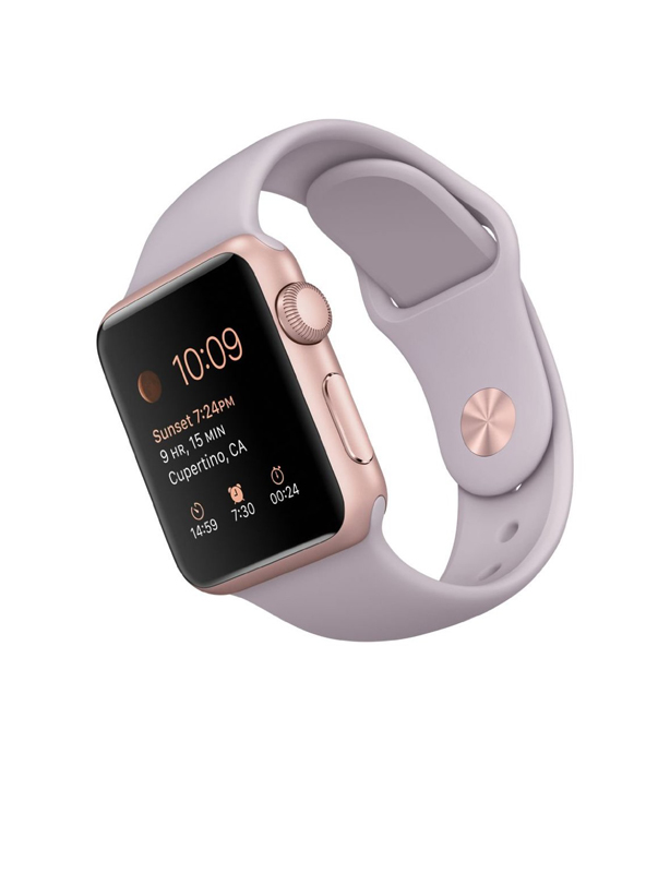 Apple Watch Sport With Lavender Sport Band (38mm) MLCH2 Rose Gold hình 1