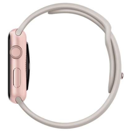 Apple Watch Sport with Stone Sport Band (42mm) Rose Gold MLC62 hình 3