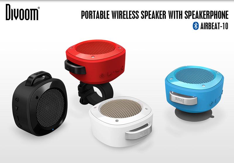 Loa Bluetooth Divoom Voombox Airbeat 10 hình 0