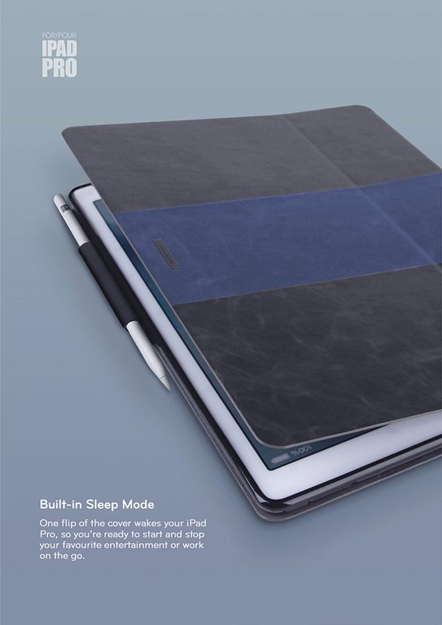 Bao da Viva Valor iPad Pro hình 4