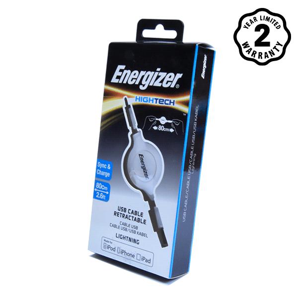 Cáp Energizer Lightning Ret (80cm) hình 1