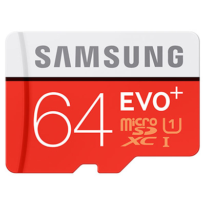 Samsung MicroSDHC 64Gb Class 10 Evo Plus hình 0