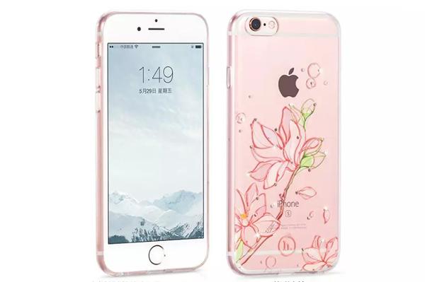 Ốp lưng Hoco TPU Flower iPhone 6/6S (TPU hoa) hình 0
