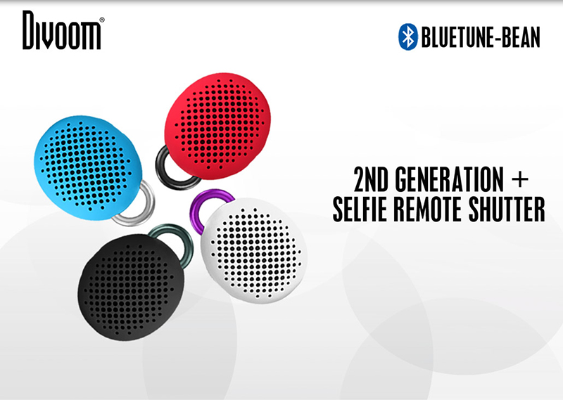 Loa Bluetooth Divoom Bluetune Bean hình 0