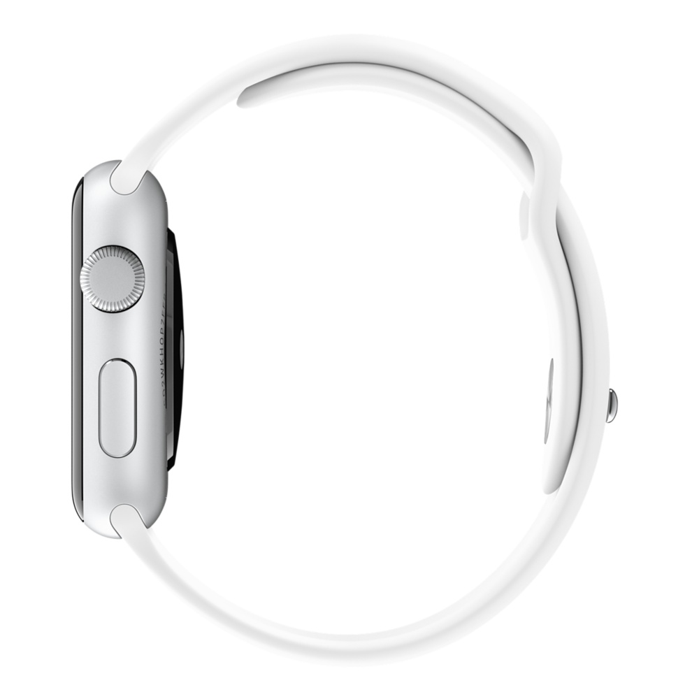 Apple Watch Sport With White Sport Band (42mm) MJ3N2 hình 3