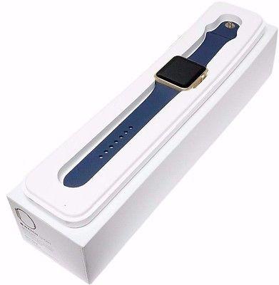 Apple Watch Sport With Mid Blue Sport Band (42mm) MLC72 hình 4