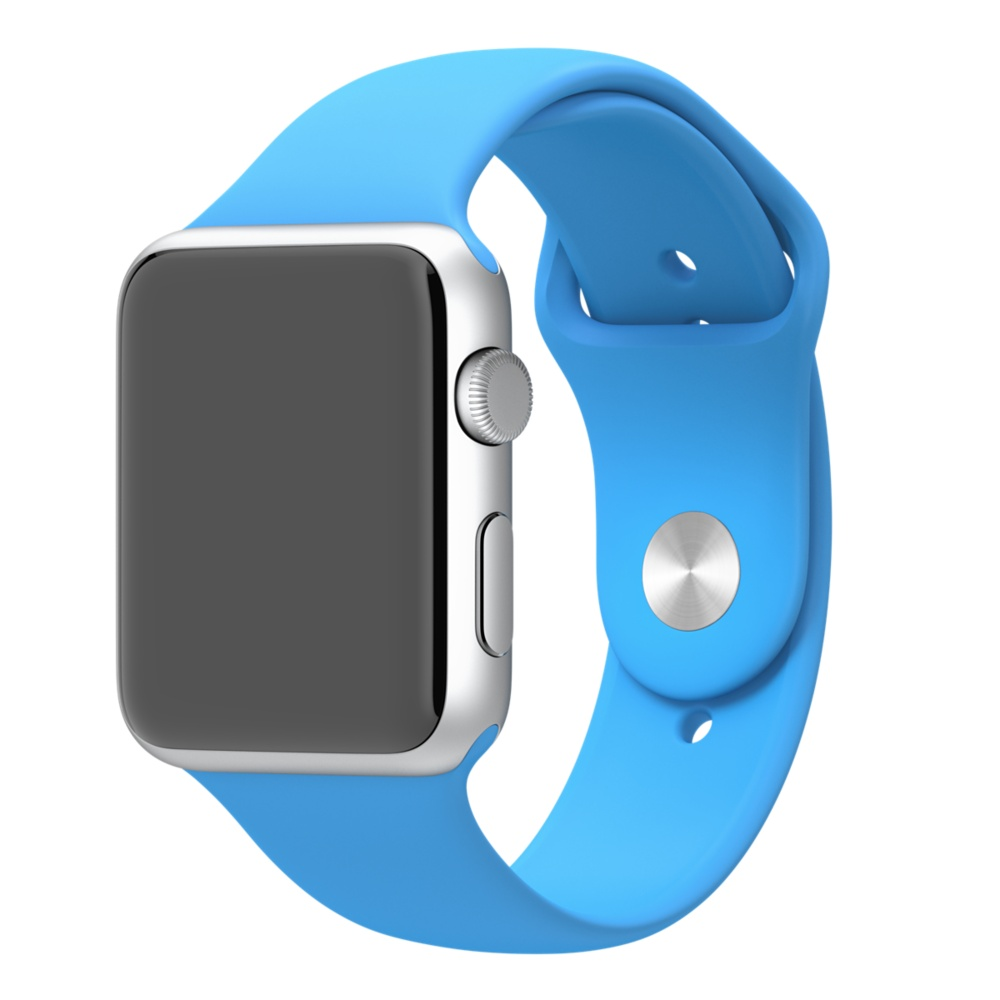 Apple Watch Sport With Blue Sport Band (42mm) MLC52 hình 0