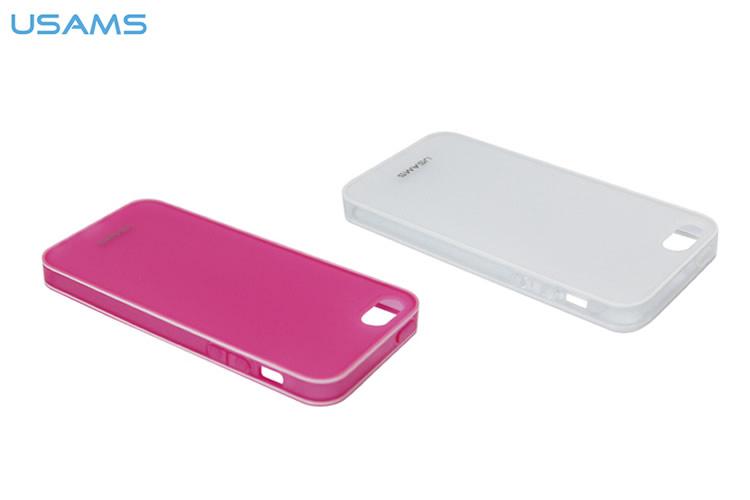 Ốp lưng + Viền Usam TPU iPhone 5/5S hình 0