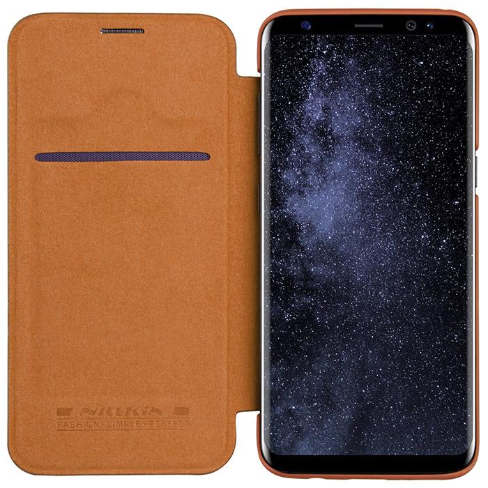Bao da Nillkin Qin Leather Samsung S8 hình 3