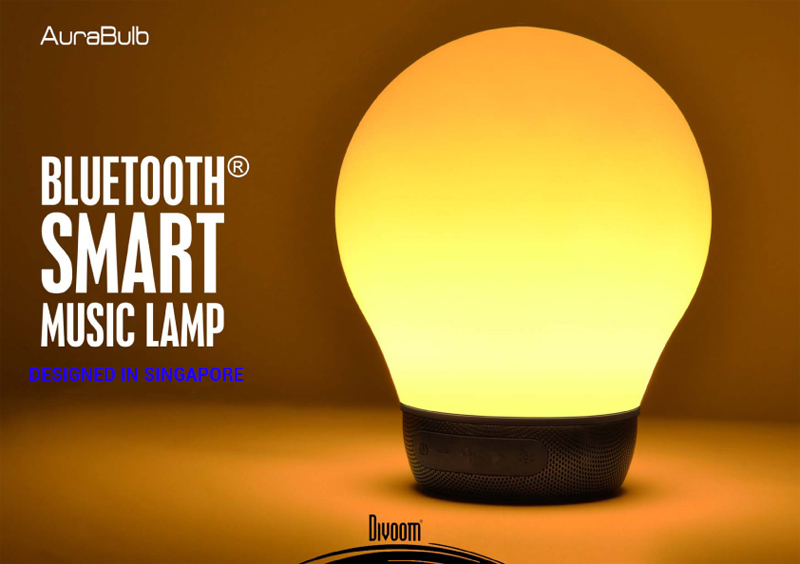 Loa Bluetooth Divoom AuraBulb (led light) hình 7