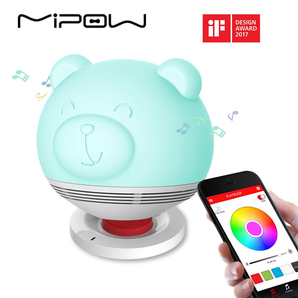 Loa đèn Mipow Playbulb Zoocoro Bear hình 2