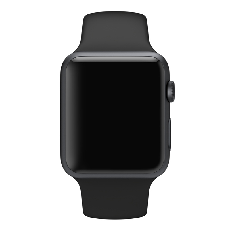 Apple Watch Sport With Black Sport Band (42mm) MJ3T2 hình 1