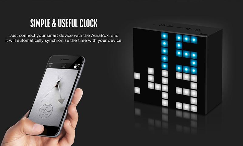 Loa Bluetooth Divoom AuraBox (Led Light) hình 3