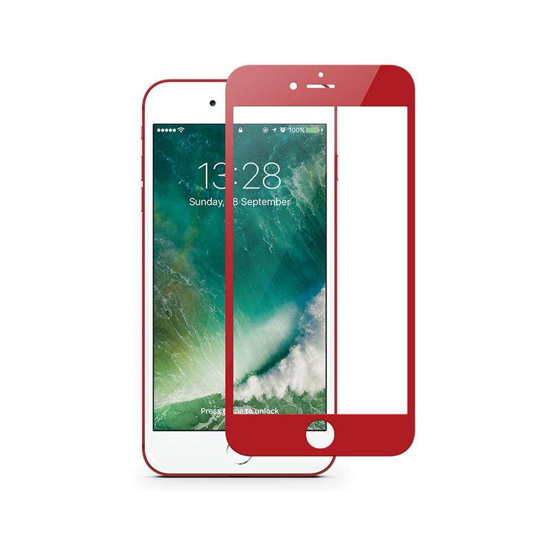 Cường lực JCPAL iPhone 7 (Full màn hình) RED hình 0