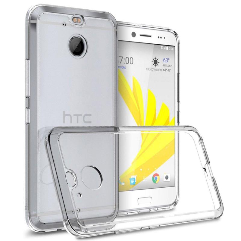 Ốp lưng iSmile TPU HTC 10 Evo (trong suốt) hình 0