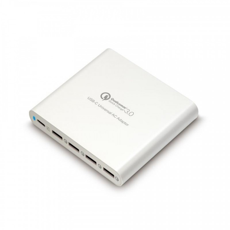 Sạc Hyper Juice 80W (Type-C & 4 USB) QC 3.0 hình 0