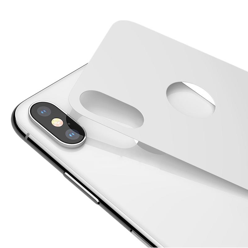 Cường lực mặt sau Jcpal iPhone X hình 0