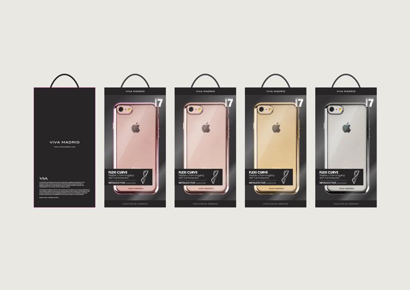 Ốp lưng Viva Metalico Flex iPhone 7 hình 5