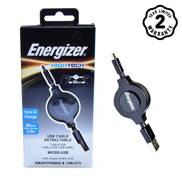 Energizer cable Micro USB Ret (80cm) hình 4