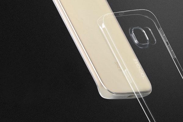 Ốp lưng Hoco TPU Galaxy S6 Edge Plus (trong suốt) hình 2
