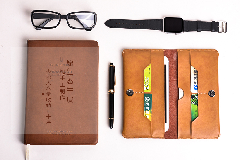 Bao da Hoco Portfolio iPhone 6S hình 6