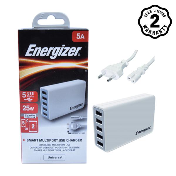 Sạc Energizer 5 cổng USB Station 25W EU hình 3