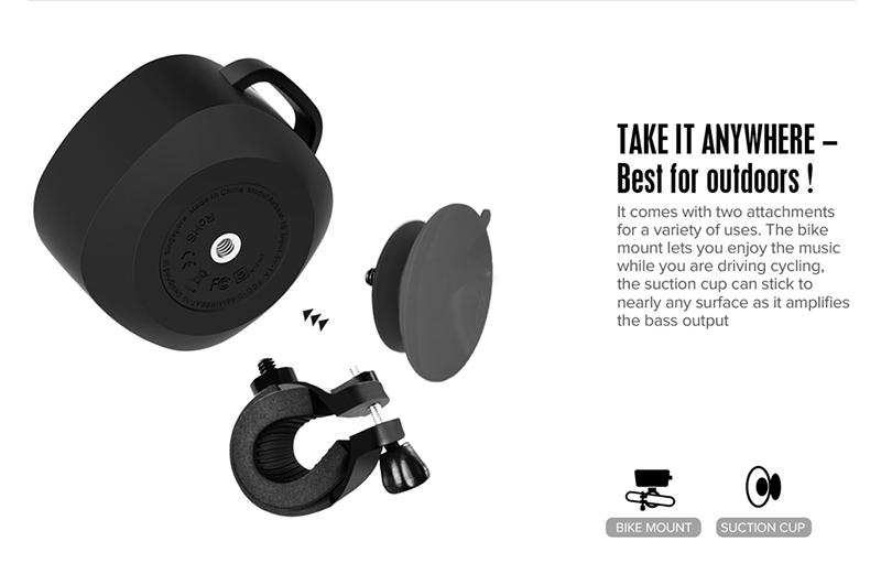 Loa Bluetooth Divoom Voombox Airbeat 10 hình 4