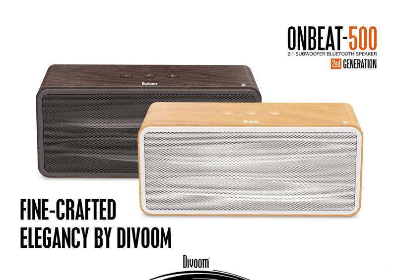 Loa bluetooth Divoom Onbeat-500 (2nd) hình 2