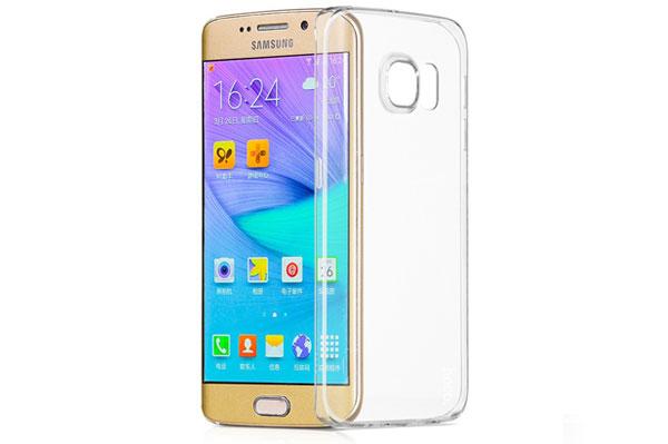 Ốp lưng Hoco TPU Galaxy S6 Edge Plus (trong suốt) hình 1