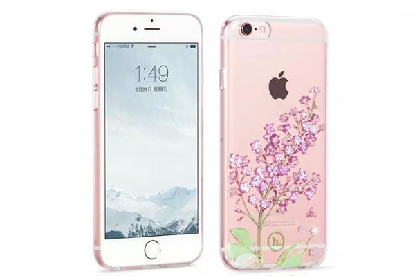 Ốp lưng Hoco TPU Flower iPhone 6/6S (TPU hoa) hình 2