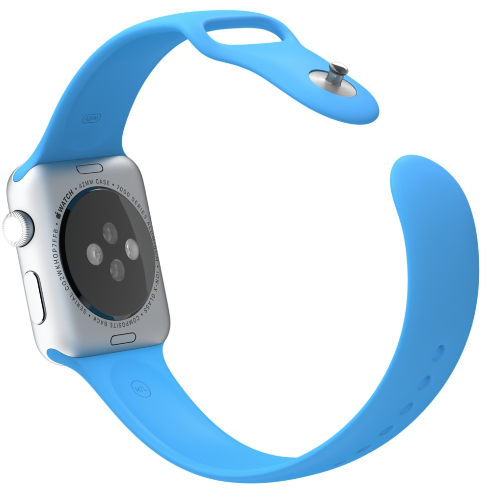 Apple Watch Sport With Blue Sport Band (42mm) MLC52 hình 4