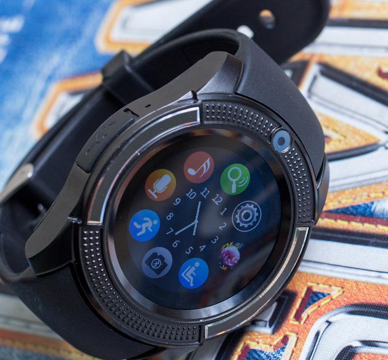 Đồng hồ thông minh V8S - JC30 hỗ trợ khe sim và thẻ nhớ hình 2