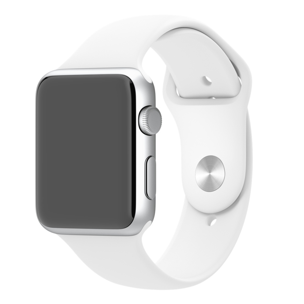 Apple Watch Sport With White Sport Band (42mm) MJ3N2 hình 0
