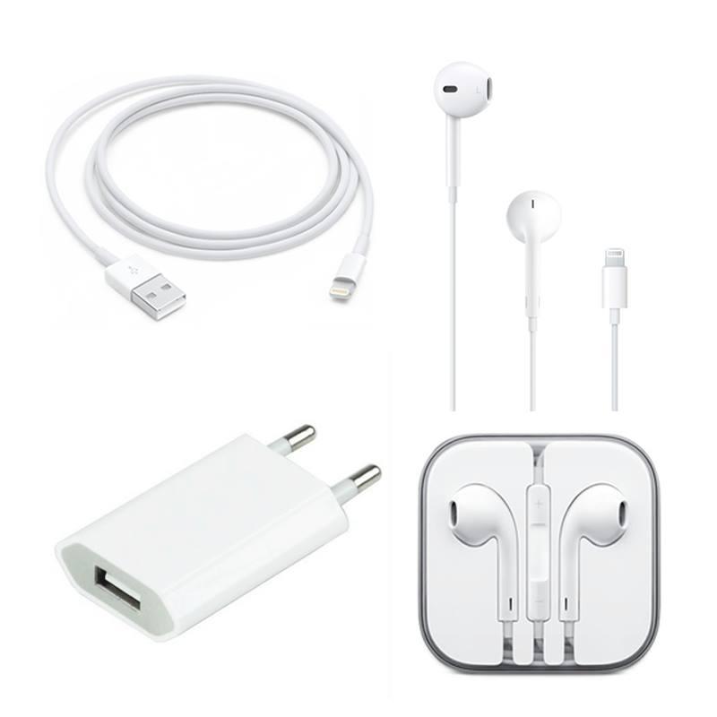 Combo phụ kiện Apple dành cho iPhone 7/7 Plus (Sạc,cáp,tai nghe) hình 0