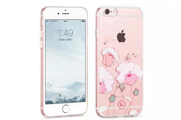 Ốp lưng Hoco TPU Flower iPhone 6/6S (TPU hoa) hình 3
