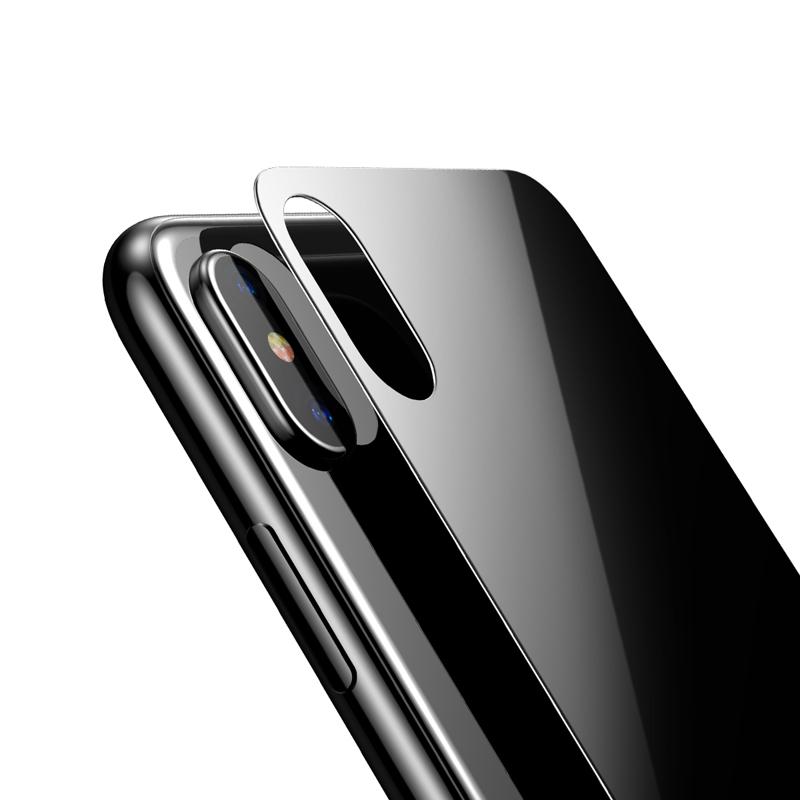 Cường lực mặt sau Jcpal iPhone X hình 1