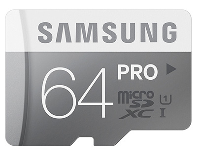 Thẻ nhớ Samsung MicroSDHC 64GB Class 10 Pro 2 UHS-1 hình 0