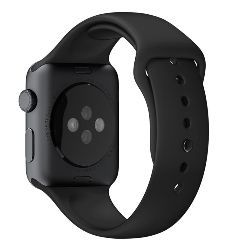 Apple Watch Sport With Black Sport Band (38mm) MJ2X2 hình 2