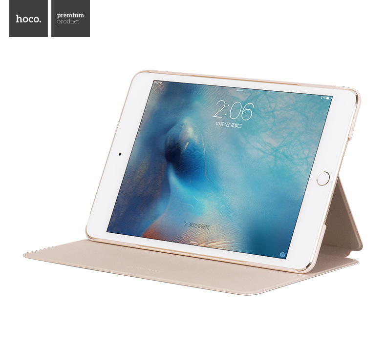 Bao da Hoco Nappa iPad mini 4 hình 2