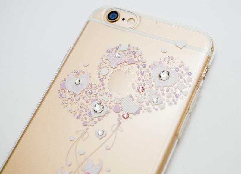Ốp lưng Case Cube TPU Heart iPhone 6/6s hình 1
