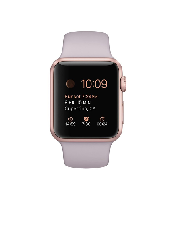 Apple Watch Sport With Lavender Sport Band (38mm) MLCH2 Rose Gold hình 0