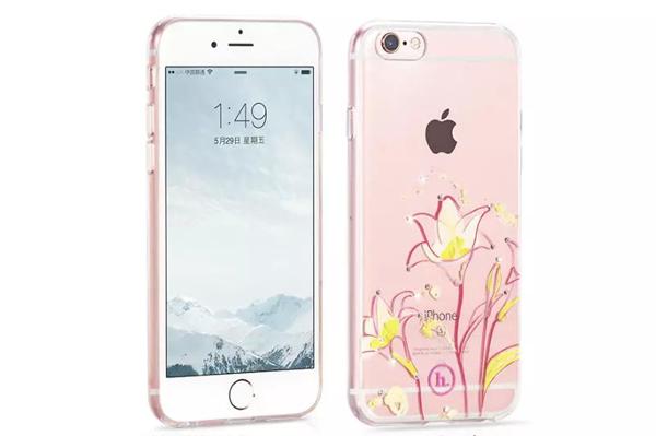Ốp lưng Hoco TPU Flower iPhone 6/6S (TPU hoa) hình 1