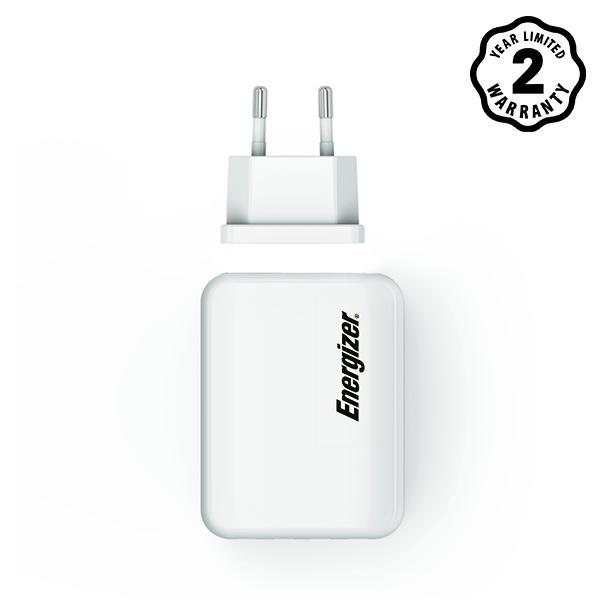 Sạc Energizer 4 cổng USB USA4BEUCWH5 4.2A 20W hình 1