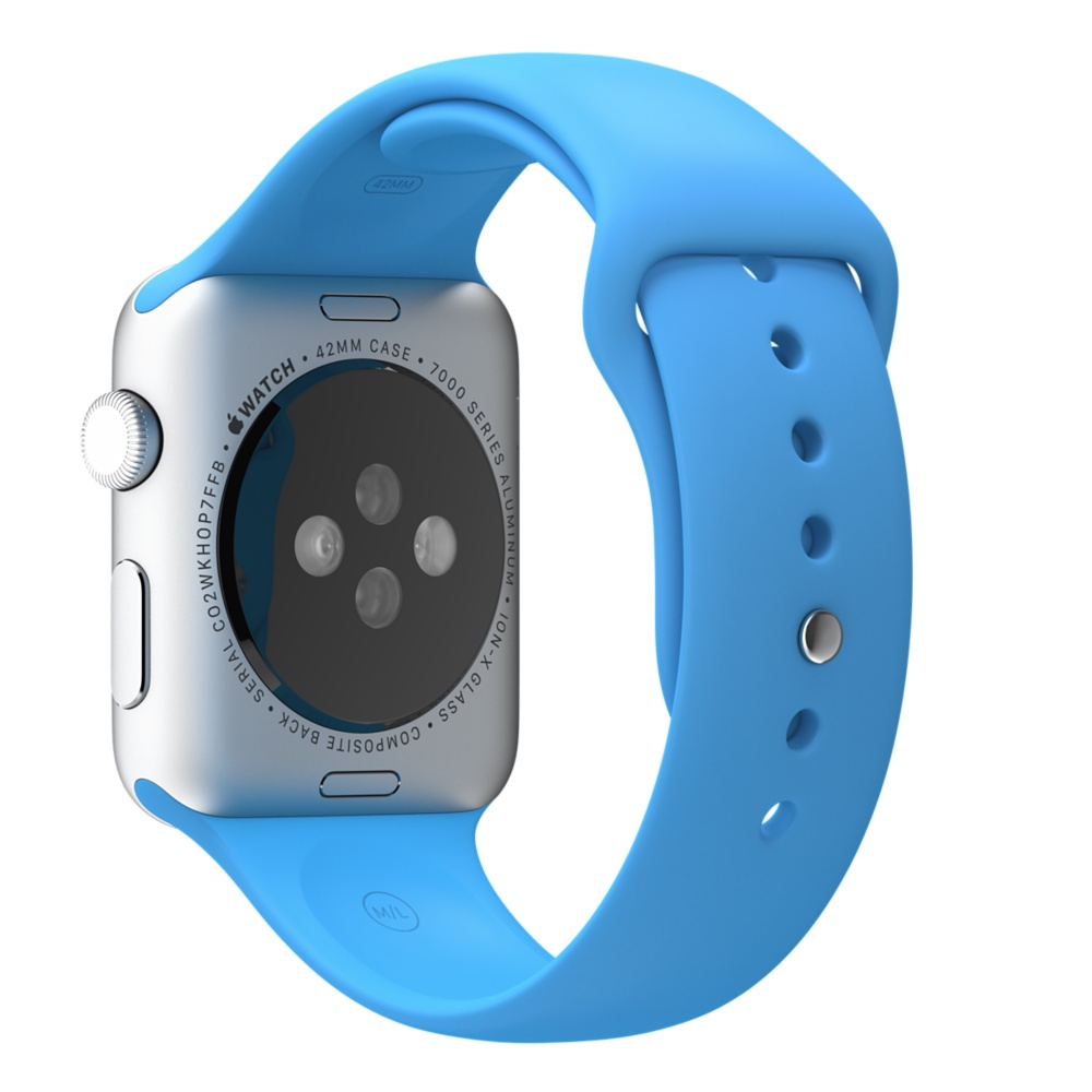 Apple Watch Sport With Blue Sport Band (42mm) MLC52 hình 2