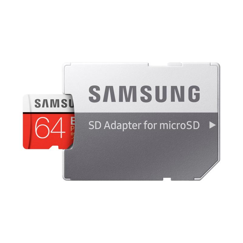 Thẻ nhớ Samsung Micro SDHC 64GB Evo Plus-4K hình 4