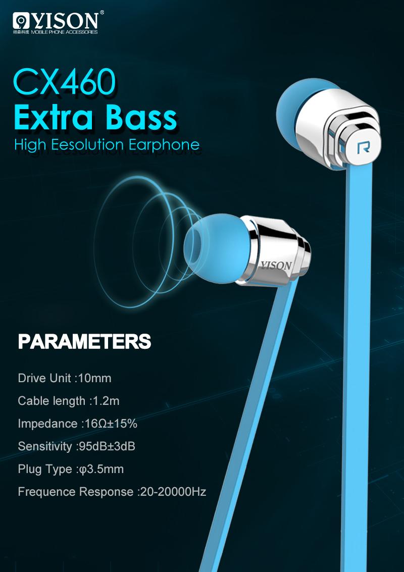 Tai nghe Yison CX 460 (hỗ trợ iOS) hình 1
