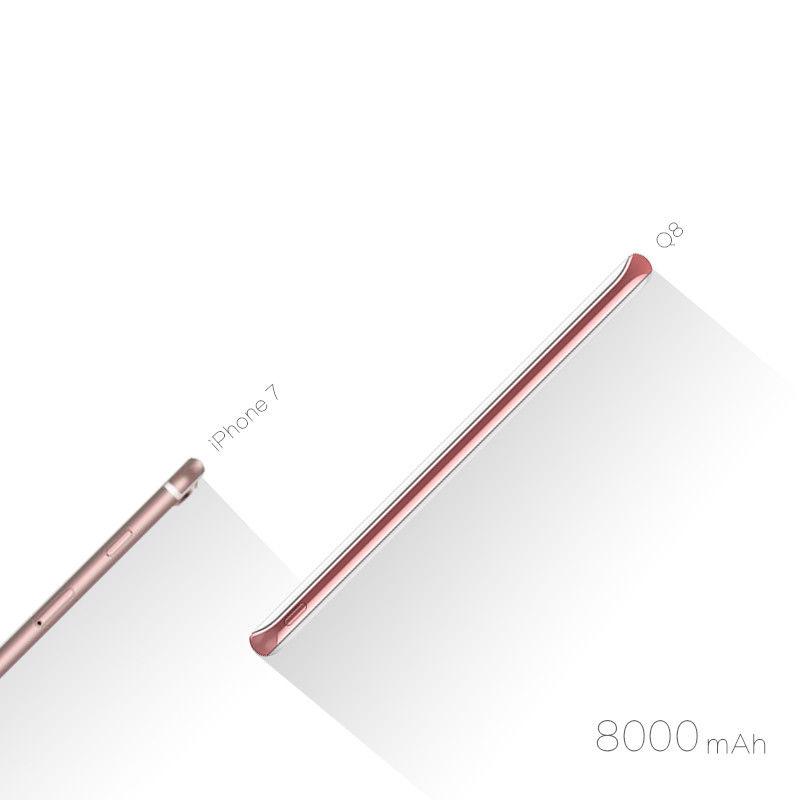 Pin dự phòng không dây Idmix 8000mAh (QC3.0) hình 2